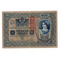 Cédula - Áustria - Km59 - 1000 Kronen - 1919