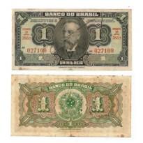 C001  - 1 Mil Reis - 1944 - MBC/SOB