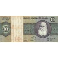 C137a - 10 Cruzeiros - 1970 - S00002 - Reposição - MBC