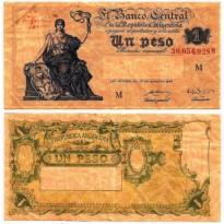 Cédula - Argentina - Km257 - 1 Peso - 1948
