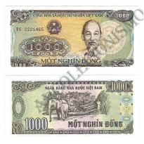 Cédula - Vietnam - Km106a - 1000 Dong - 1988 - FE