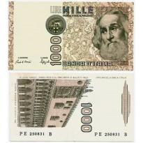 Cédula - Itália - Km109b - 1000 Lire -1982 - FE
