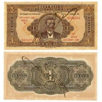 R080 - Cédula Brasil - 1 Mil Reis - 1923 - FE