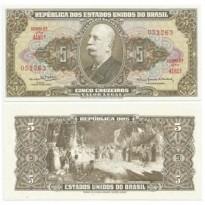 C074a - 5 Cruzeiros - 1964 - FE - Primeira Serie