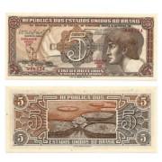 C112 - 5 Cruzeiros - Índio - Serie 101 - 1962 - FE
