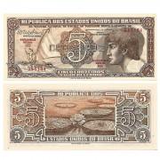 C112 - 5 Cruzeiros - Índio - Serie 103 - 1962 - FE