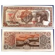 C112 - 5 Cruzeiros - Índio - Serie 110 - 1962 - FE