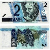 C256 - Cédula Brasil - 2 Reais - 2003 - FE