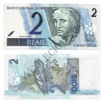 C259 - Cédula Brasil - 2 Reais - 2008 - FE
