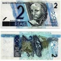 C261 - Cédula Brasil - 2 Reais - 2009 - FE