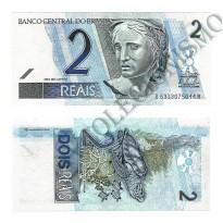 C262 - Cédula Brasil - 2 Reais - 2009 - FE