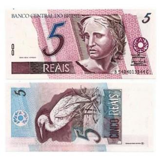 C275 - Cédula Brasil - 5 Reais - 2003 - FE