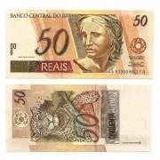 C317 - Cédula Brasil - 50 Reais - 1999 - FE