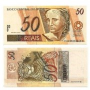 C323 - Cédula Brasil - 50 Reais - 2009 - FE