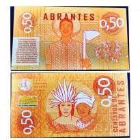 MSB003 - Moeda Social - Abrantes - Ab$ 0,50 - B. Abrantes - Camaçari - BA - FE