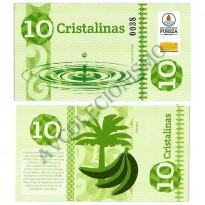 MSB010 - Moeda Social - Cristalina - C$ 10,00 - B. Pureza - Bebida Velha - RN - FE