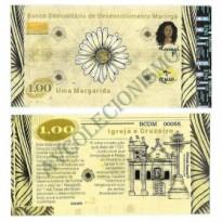 MSB012 - Moeda Social - Margarida - C$ 1,00 - B. Maringá - PB - FE