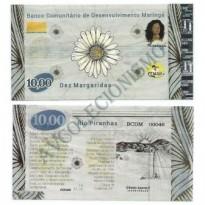 MSB015 - Moeda Social - Margarida - C$ 10,00 - B. Maringá - PB - FE