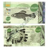 MSB025 - Moeda Social - Tintim - Tn$ 10,00 - B. Lagoa de Dentro - PB - FE