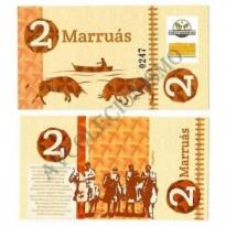 MSB040 - Moeda Social - Marruás - M$ 2,00 - Banco Comunitário - Marruás - Ceará - FE