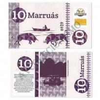 MSB042 - Moeda Social - Marruás - M$ 10,00 - Banco Comunitário - Marruás - Ceará - FE