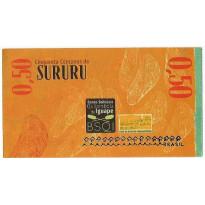 MSB053 - Moeda Social - Sururu - Su$ 0,50 - Comunidade Quilombola do Iguapé - S. F. do Conde - BA - FE