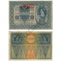 Cédula - Áustria - Km60 - 1000 Kronen - 1919 - XF
