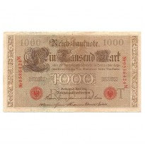 Cédula - Alemanha - Km45 - 1000 Mark - 1910