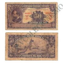 R130  - 50 Mil Reis - 1936 - MBC