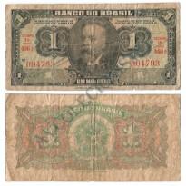 C001  - 1 Mil Reis - 1944 - MBC