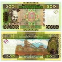 Cédula - Guiné - Km039 - 500 Francos Guineense - 2006 - FE