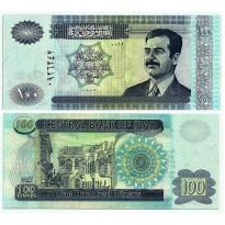 Cédula - Iraque - Km087 - 100 Dinars - 2002 - FE