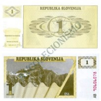 Cédula - Eslovênia - Km001 - 1 Tolar - 1990 - FE