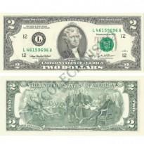 Cédula - Estados Unidos - Km515A - 2 Dollares - 2003A - FE