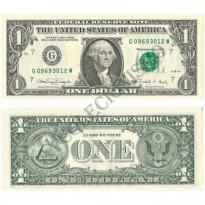Cédula - Estados Unidos - Km480b - 1 dólar - 1988 - FE