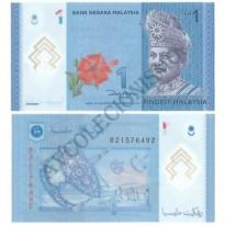 Cédula - Malásia - KmXXX - 1 Ringgit - 2012 - FE