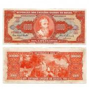 C105 - 1000 Cruzeiros - 1960 - MBC
