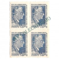 QC0421 - Visita do Presidente Giovanni Gronchi - 1958 - MINT