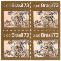 QC0815 - Arte Barroca do Brasil - Pintura - 1973 - MINT