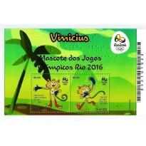 B187 - Mascote dos Jogos Olimpicos - Rio 2016 - Vinicius - 2015 - MINT