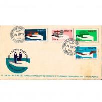 FDC031 CPD - Campanha de Proteção Nacional - 1973