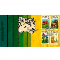 FDC039CPD - Série Fauna e Flora - 1973