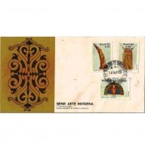 FDC195 CPD - Série Arte Indígena - 1980