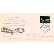 FDC235 CPD - Santos Dumont - 75 anos do 1º Voo Autopropelido - 1981