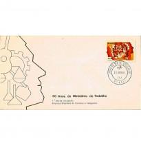 FDC240 CPD - 50 anos do Ministério do Trabalho - 1981