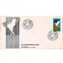 FDC381 - 40º aniversário da ONU - 1985