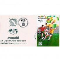FDC389 - XIII Copa Mundial de Futebol - 1986