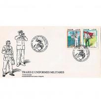 FDC413 - Trajes e Uniformes Militares - 1986
