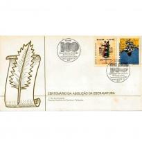 FDC444 - Centenário da Abolição da Escravatura - 1988
