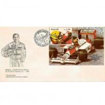 FDC465 - Ayrton Senna - Campeão Mundial de Pilotos Fórmula 1 - 1989